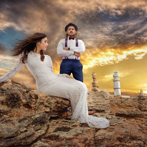 Hochzeits oder Afterwedding-Shootings im Ausland | Mallorca